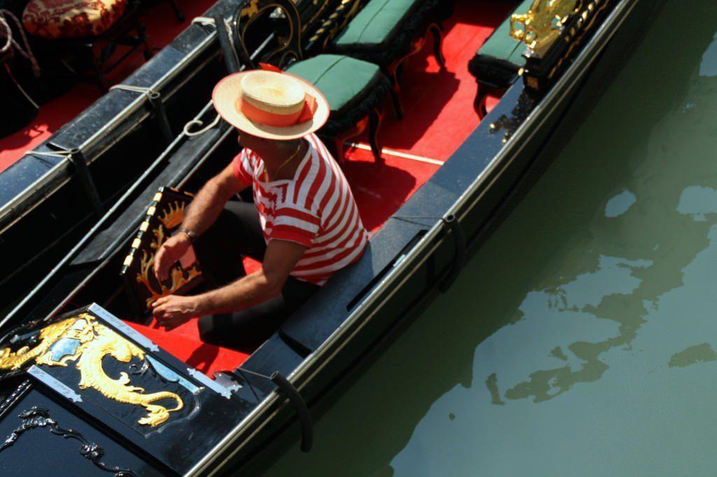 Gondolero. Venecia