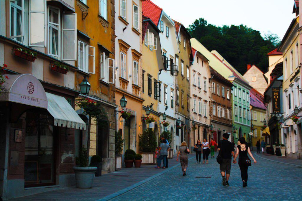 Calles de Ljubljana