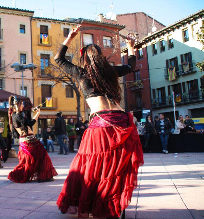 Danza del viente. Mercado Medieval de Vic