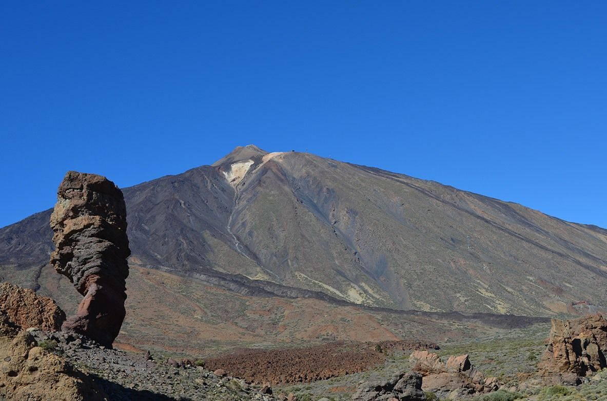 Roque Cinchado en el Teide