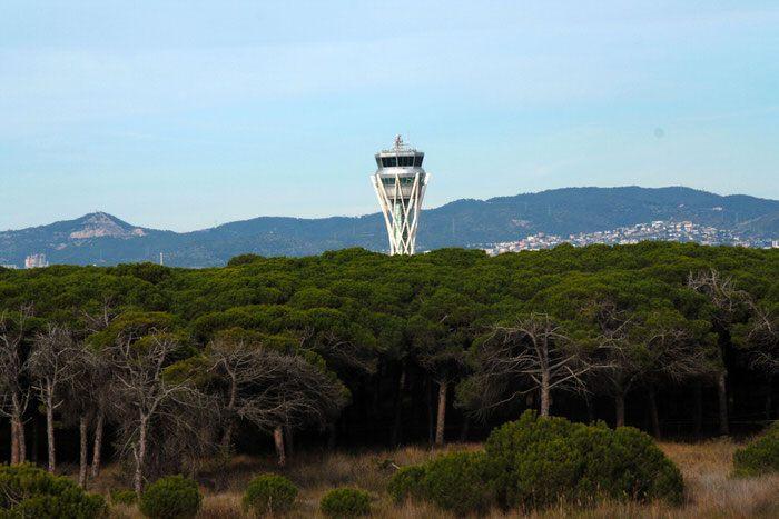 Torre de control Aeropuerto El Prat Barcelona