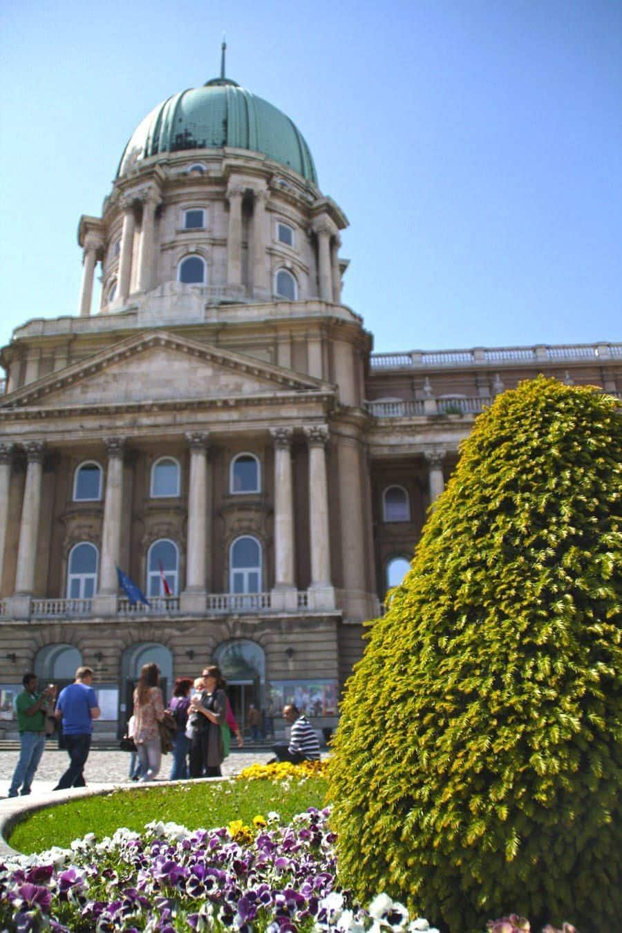 Colina de Buda en Budapest
