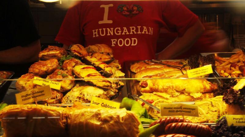 Comida húngara en Budapest
