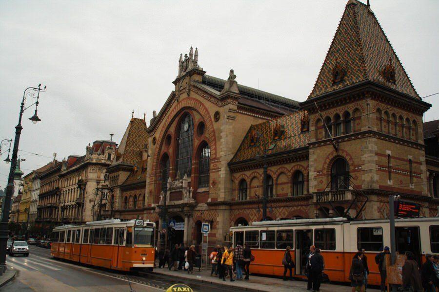 Mercado central de Budapest. Hungría.
