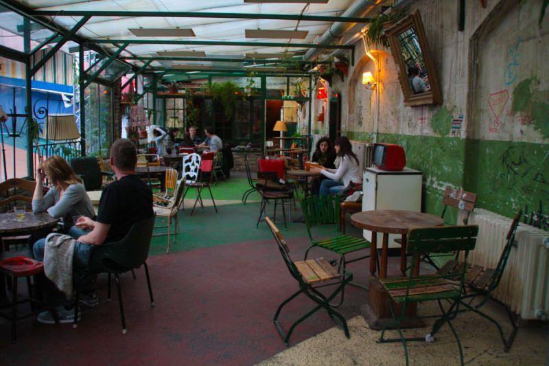 Ruin Bars. Budapest.