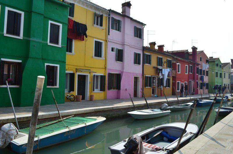 Burano - La isla colorida de Venecia
