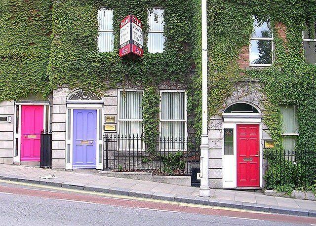 Dublín y sus puertas de colores