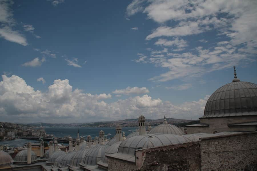 Vista desde la mezquita Süleymaniye. Las mezquitas de Estambul. Turquia. El viaje me hizo a mí. Blog de viajes.