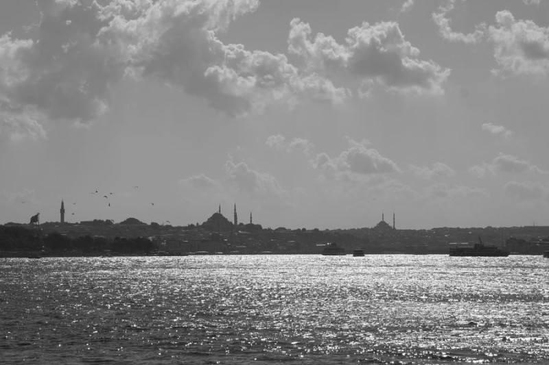 Vista de Estambul desde Asia