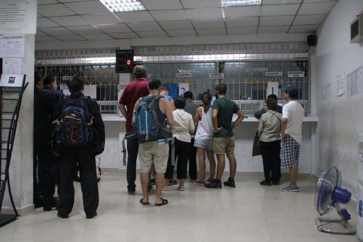 tramitar el visado de Myanmar