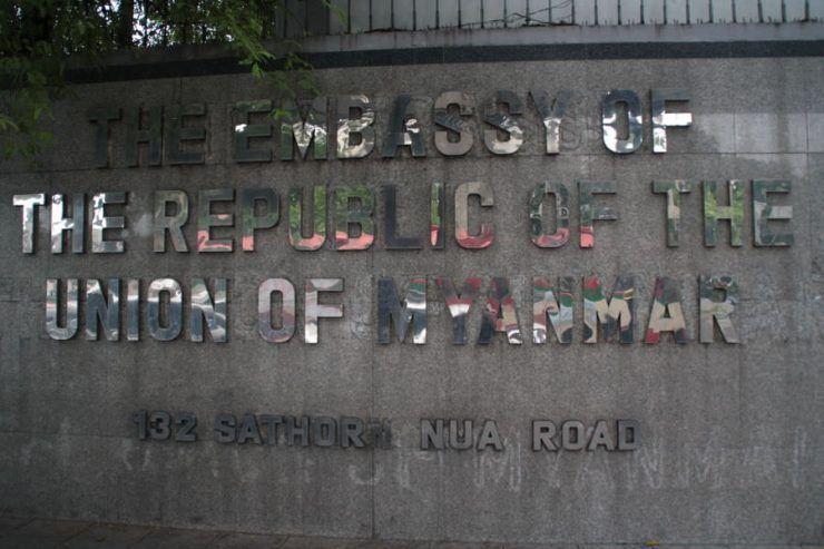 Embajada de Myanmar en Bangkok