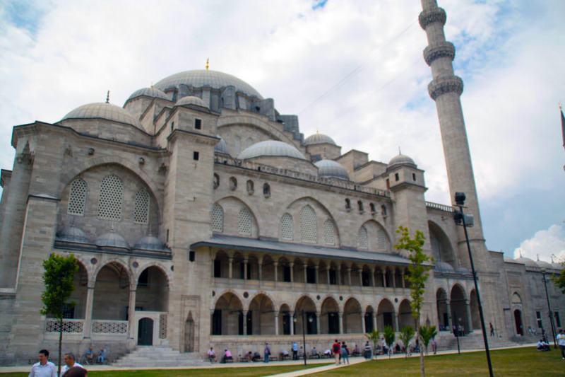 Mezquita Suleymaniye en Estambul