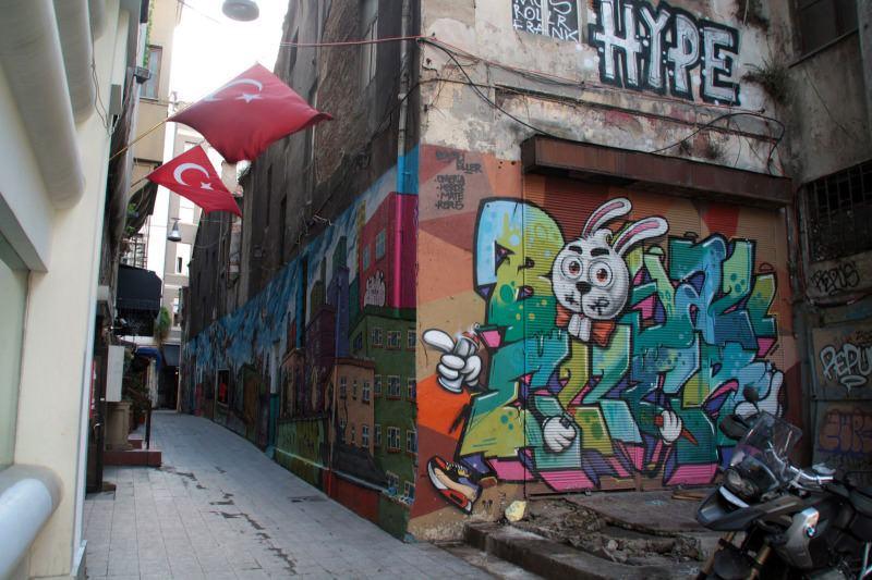 Calle de Estambul ideal para pasear. El viaje me hizo a mi. Blog de viajes