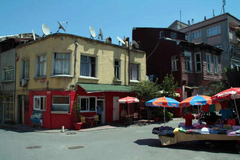 Zona tranquila para dormir en Estambul. El viaje me hizo a mi. Blog de viajes