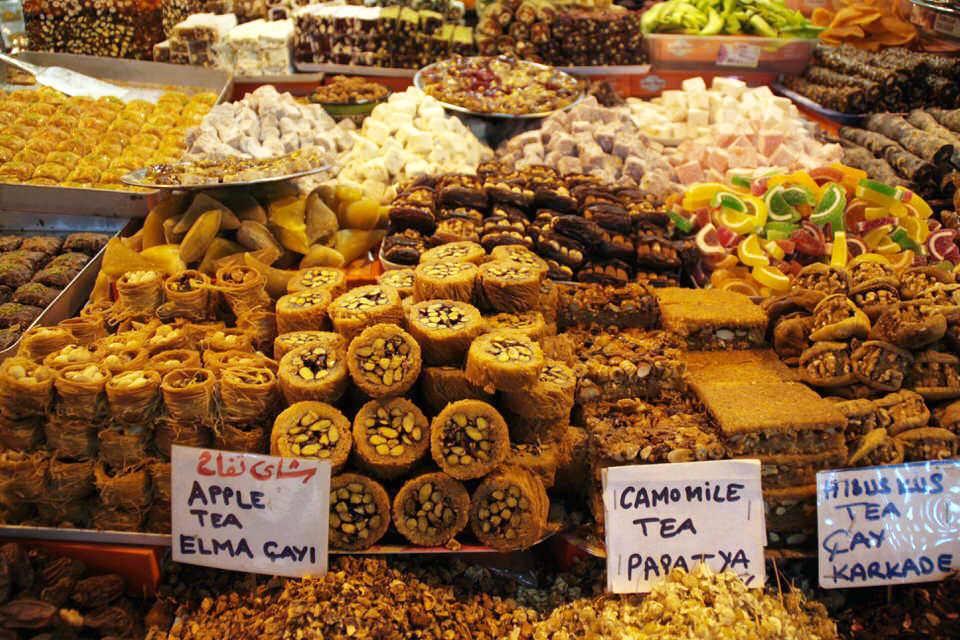 Dulces típicos de Turquía