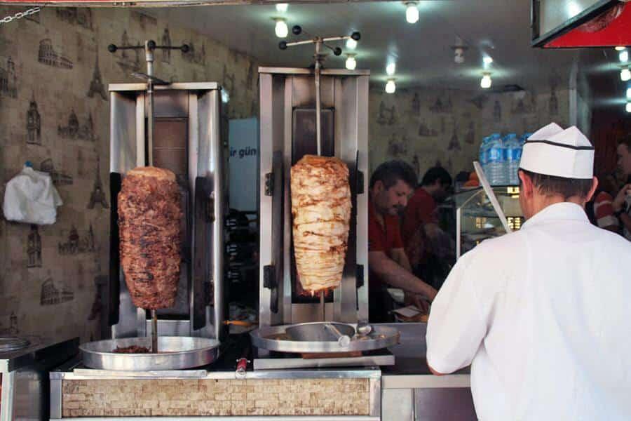 Kebab en Estambul