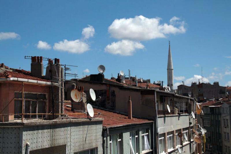 Barrio de Topkapi en Estambul. El viaje me hizo a mi. Blog de viajes