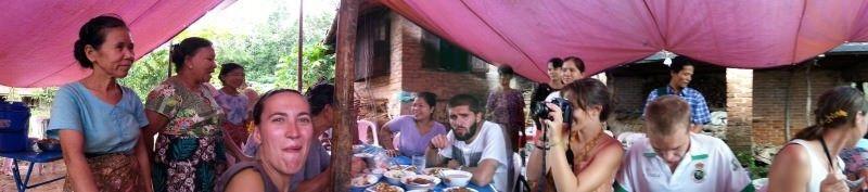 Comida en la Isla del Ogro. Myanmar. El viaje me hizo a mi. Blog de viajes