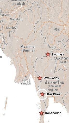 Entradas desde Tailandia a Myanmar. El viaje me hizo a mi. Blog de viajes
