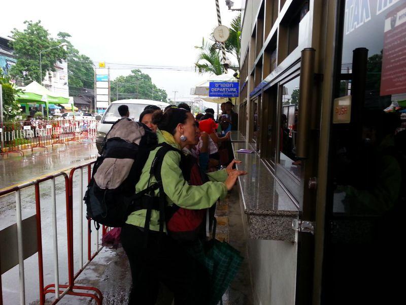 paso fronterizo entre Tailandia y Myanmar