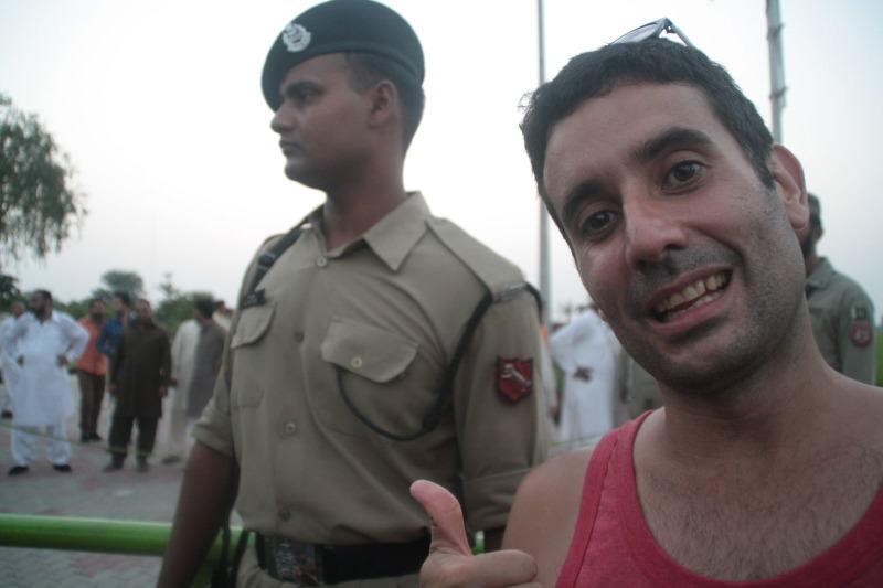 Jose en la Frontera entre India y Pakistán