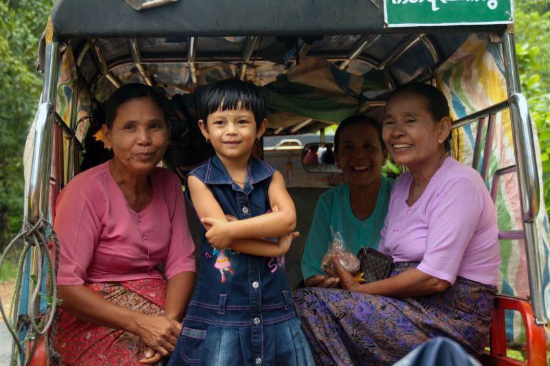 Mujeres de la Isla de Ogro. El viaje me hizo a mi. Blog de viajes