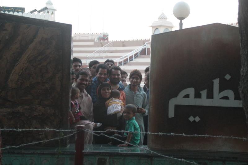 a dos metros de pakistán