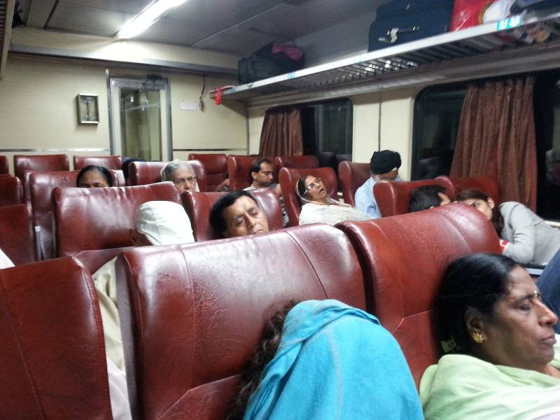Tren de primera clase en India