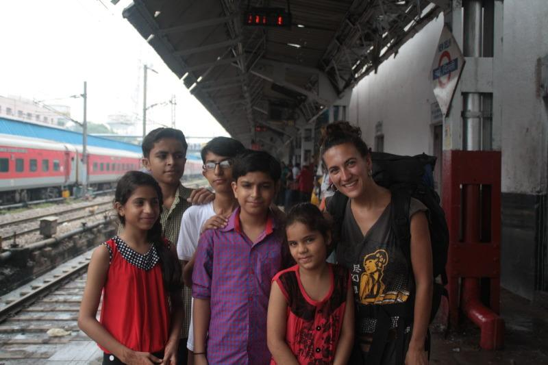 Viajar en tren en India