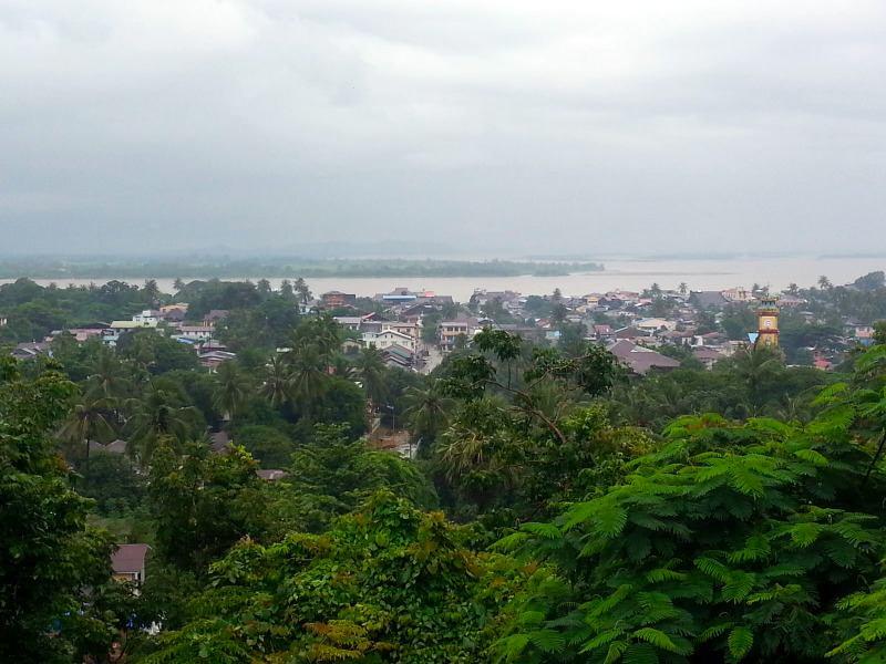 paisaje de Myanmar