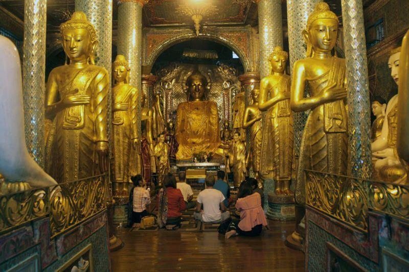 Budas en la Pagoda