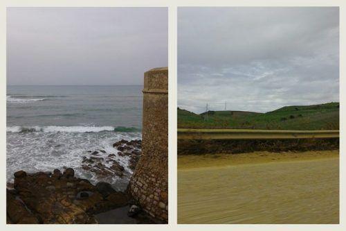 Mar y montaña en Asilah
