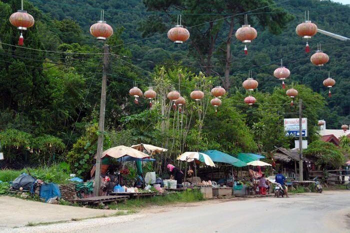 Calles de Mae Salong. El viaje me hizo a mi. Blog de viajes. Tailandia