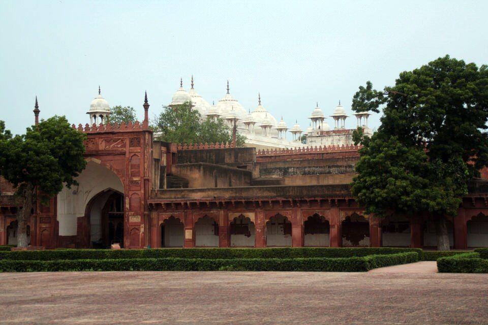 Interior Fuerte Rojo en Agra