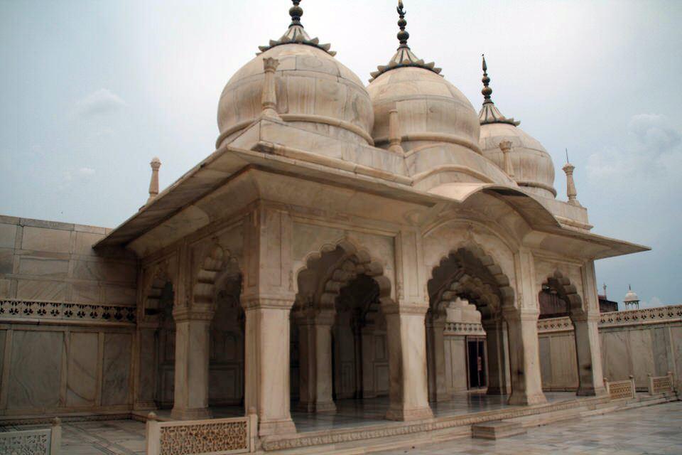 Mezquita en el Fuerte de Agra