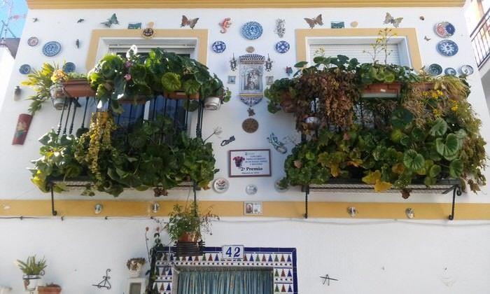 Fachadas decoradas en Almuñécar