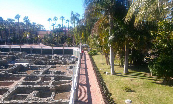 Parque del Majuelo de Almuñécar en Granada