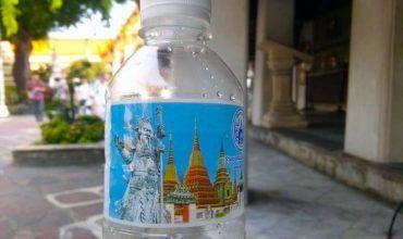 Agua embotellada en Bangkok. El viaje me hizo a mí. Blog de viajes