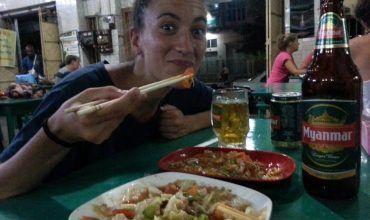 Cerveza Myanmar. El viaje me hizo a mí. Blog de viajes