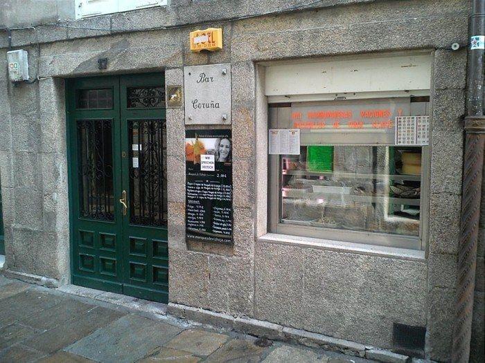 El Bar Coruña es una Buena opción para los bocatas