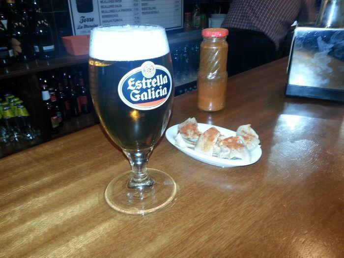 Tapa del Bar orella en Santiago de Compostela. El viaje me hizo a mí. Blog de viajes