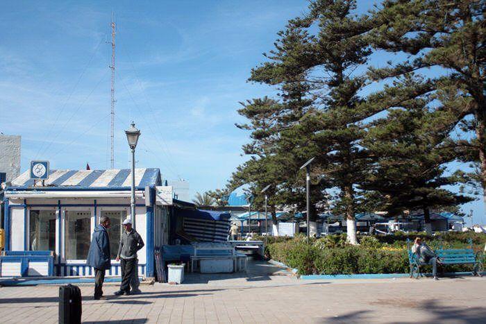 restaurantes por el puerto de Essaouira