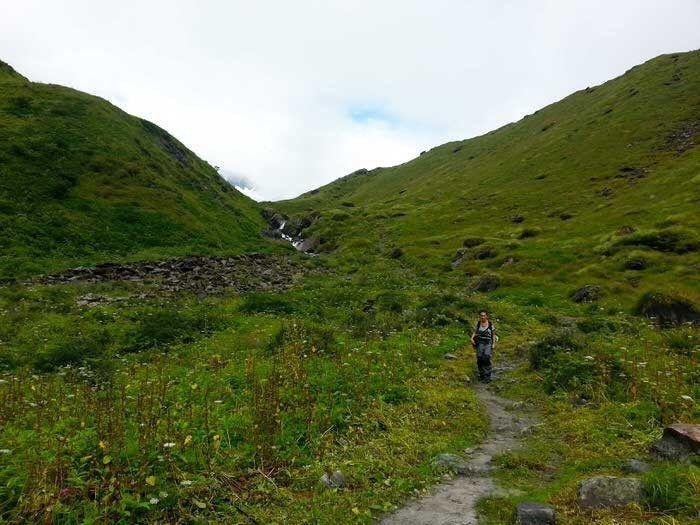 Bajando del Annapurna