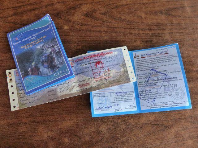 permisos trekking Nepal
