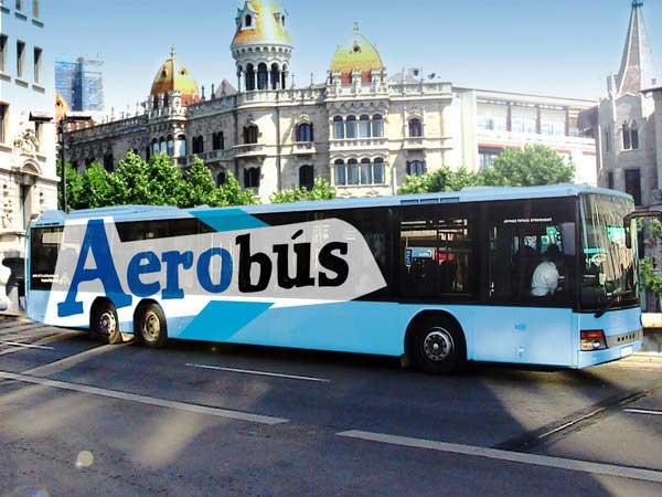 ir desde barcelona al aeropuerto en aerobús