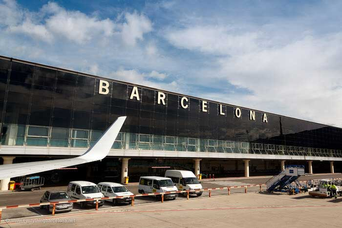 ir desde el aeropuerto al centro de Barcelona