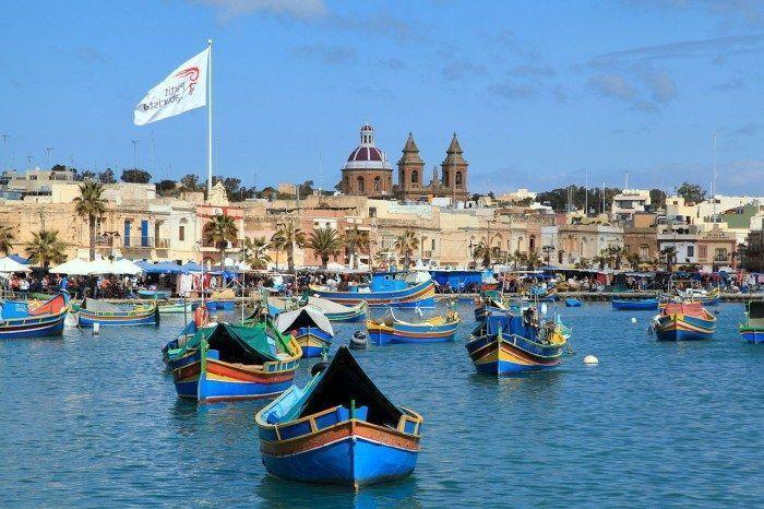 El puerto de malta