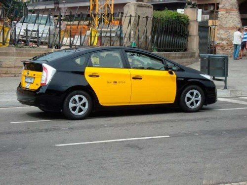 Ir al aeropuerto de Barcelona en taxi