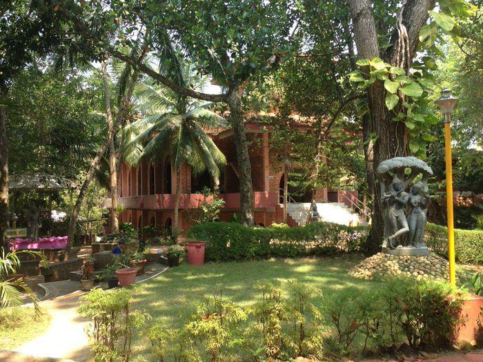 vista del ashram