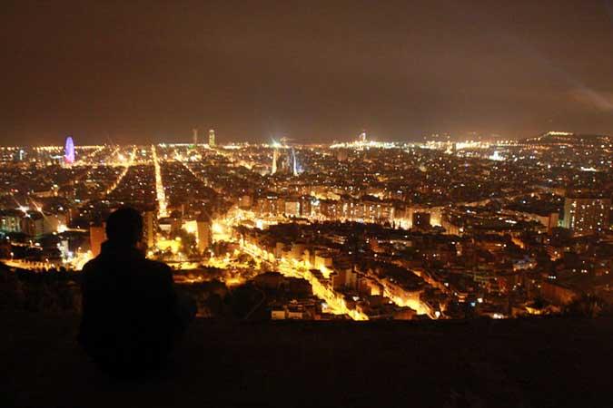 Barcelona desde el Bunker del Carmel